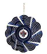 Christmas Ornament - Winnipeg Jets Geo Spinner-O Canada