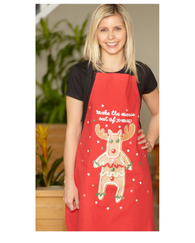 Hatley Make The Moose Out Of Xmas Apron