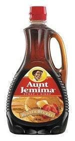Aunt Jemima Syrup Butter Rich 750mL - Best Before 20 Jul 2018-O Canada