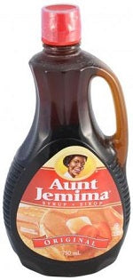 Aunt Jemima Syrup Original 750mL - Best Before 4 May 2019-O Canada