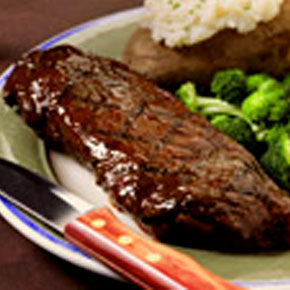 Recipe - Beer Marinated Steak-O Canada