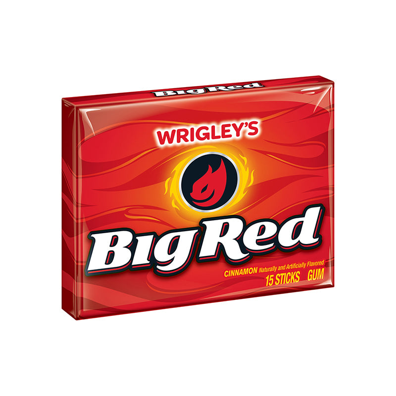 Wrigley's Big Red Gum 15 Stick Pack-O Canada