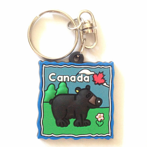 Souvenir Key Ring - Bear-O Canada