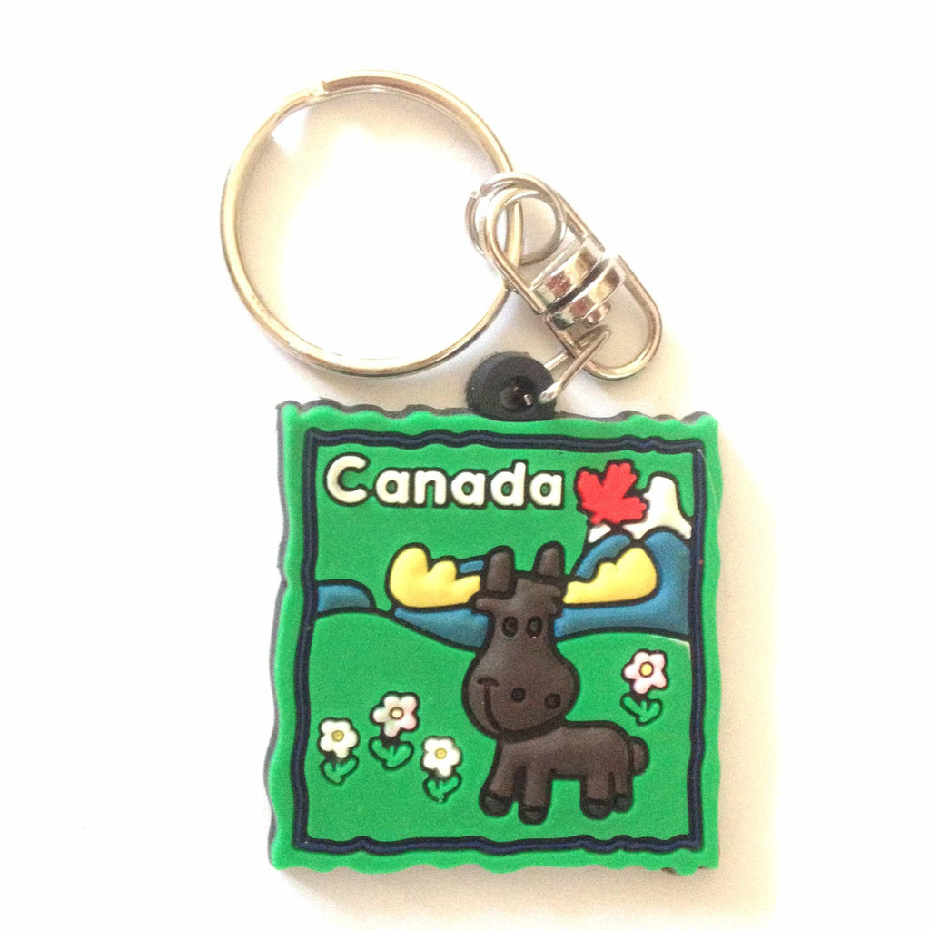 Souvenir Key Ring - Moose-O Canada