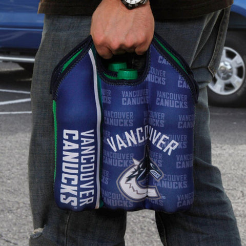 Vancouver Canucks Six-Pack Bottle Tote Cooler