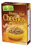 Big G Honey Nut Cheerios 430g-O Canada