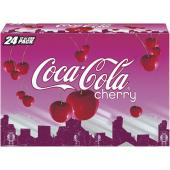 Cherry Coke 355mL case of 12-O Canada