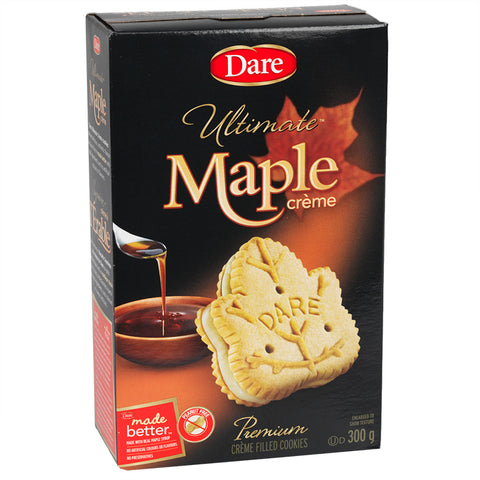 Dare Ultimate Maple Leaf Cookies 350g-O Canada