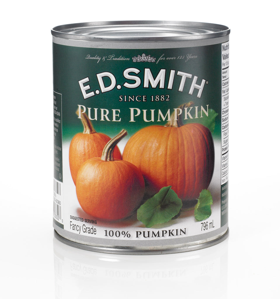 E.D. Smith Pure Pumpkin 796mL - Best Before 15 Sept 20-O Canada
