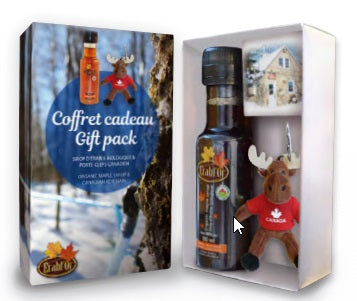 Erabl'or Gift Box - Maple Syrup w Keychain-O Canada