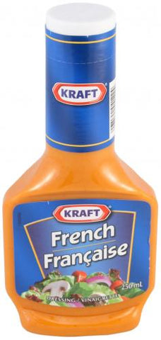 Kraft French Dressing 250mL-O Canada