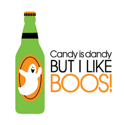 """Candy is Dandy but I Like Boos!"" Cocktail Napkins"