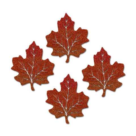 Glittered Maple Leaves