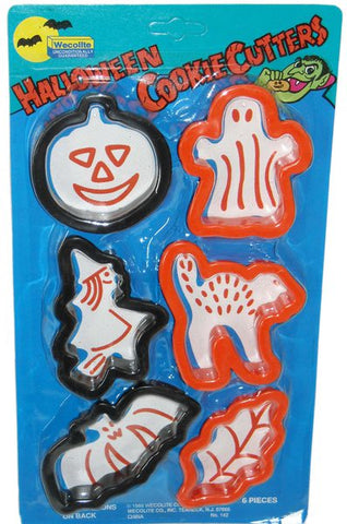 Hallowe'en Cookie Cutters 6pk-O Canada
