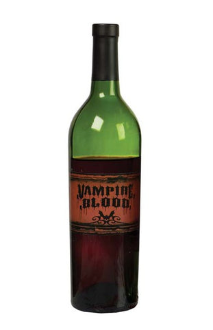 "Hallowe'en ""Vampire Blood"" Wine Bottle Label"