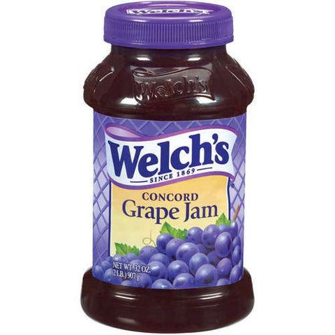 Welch's Concord Grape Jam 500mL- Best Before 6th October 2018-O Canada