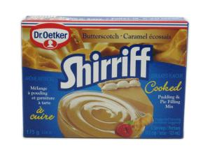 Dr. Oetker Shirriff Cooked Butterscotch Pudding & Pie Filling