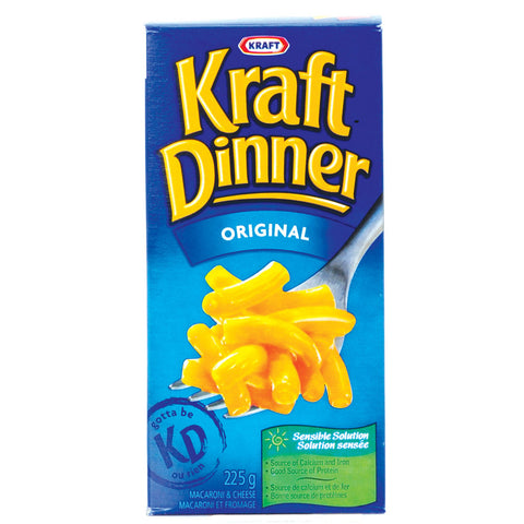 Canadian Kraft Dinner from Canada