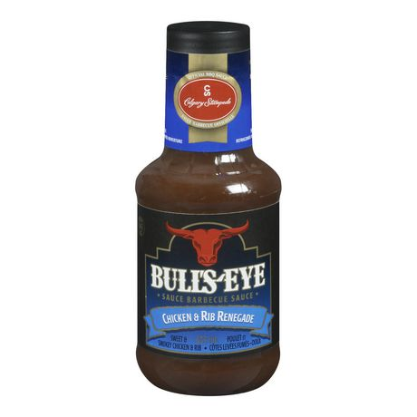 Bull's-Eye BBQ Sauce Chicken & Rib 425mL - Best Before 19 July 2019-O Canada