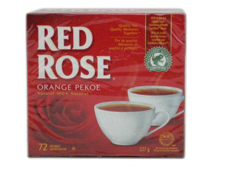 Red Rose Tea Bags Original 36 Bags-O Canada