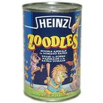 Heinz Zoodles animal shaped pasta