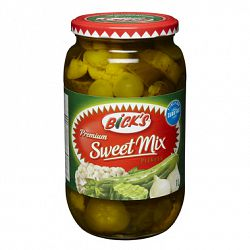 Bick's Sweet Mix Pickles 500mL-O Canada
