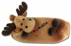 Moose Plush Pencil Case-O Canada