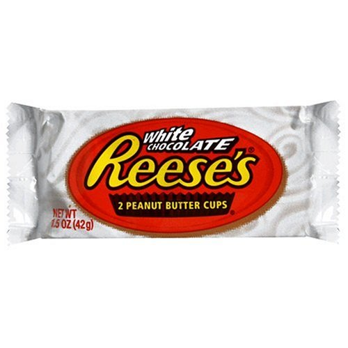 Reese's White Chocolate Peanut Butter Cups 42g- Best Before 07 2018-O Canada