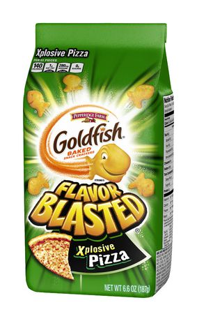 Goldfish Crackers Flavour Blasted Pizza 200g-O Canada