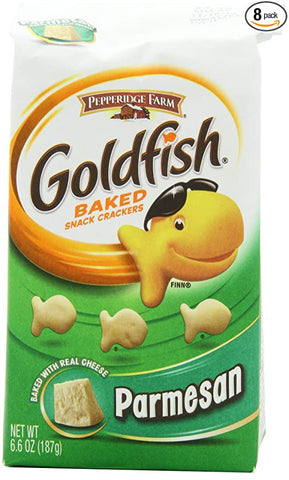 Goldfish Crackers Parmesan 187g