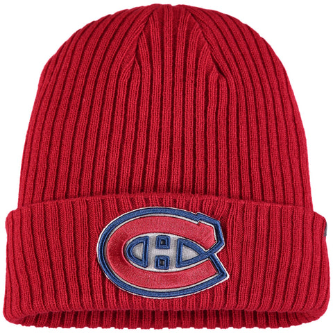 Montreal Canadiens Fanatics Branded Red Core Cuffed - Knit Hat