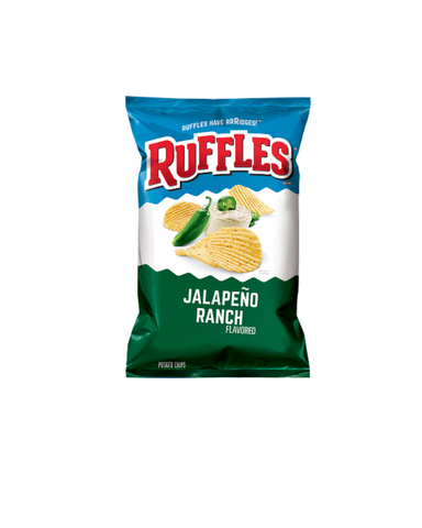 Ruffles Sour Jalapeno Ranch-USA
