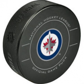 Sherwood Winnipeg Jets Official Game Puck