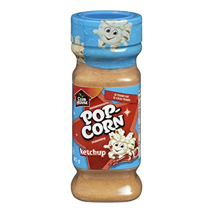 Club House Popcorn Seasoning Ketchup185g-O Canada