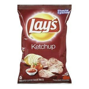 Lay's Ketchup Chips from Canada