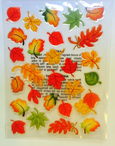 Recollections Fall Leaves Thanksgiving Stickers