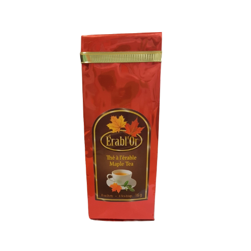 Maple Tea - Erabl'Or - 8 bags-O Canada
