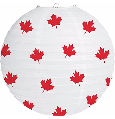 Maple Leaf Paper Lantern-O Canada