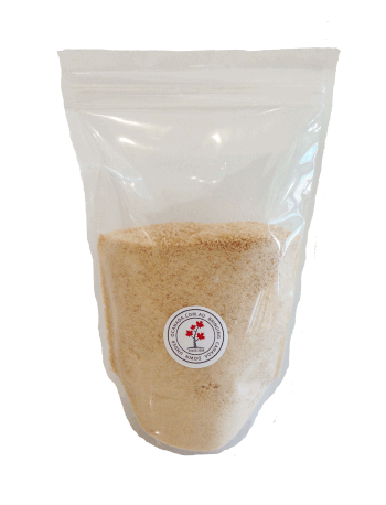 granulated maple sugar, pure maple syrup
