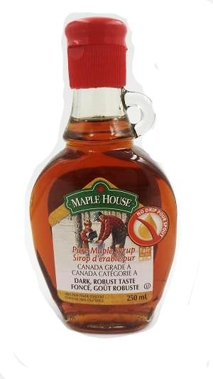 100% Pure Maple Syrup - Dark/ Canada No. 2 - 250mL-O Canada