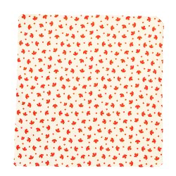 Bandana Maple Leaf Pattern (Red on White)-O Canada