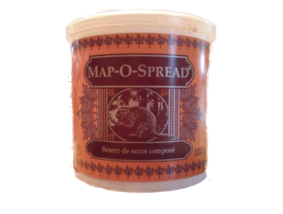Map-o-Spread 800g - best before 12 Nov 2017-O Canada
