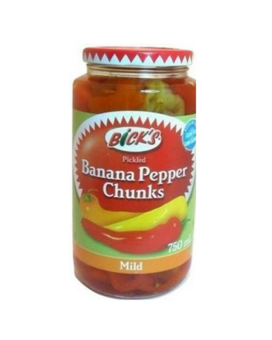 Bick's Banana Pepper Chunks (Mild) 750mL