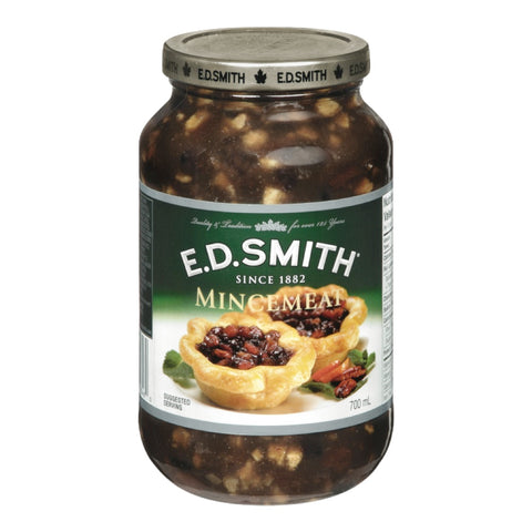 E.D. Smith Mincemeat Pie Filling 700mL-O Canada