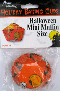Hallowe'en Muffin Cups - Mini-O Canada