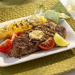 Recipe - Montreal Steak & Corn-O Canada