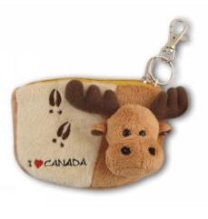 Moose Coin Purse-O Canada