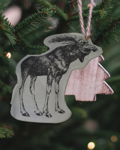 Christmas Ornament - Moose -