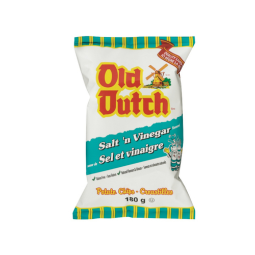 Old Dutch Salt & Vinegar 180g-O Canada