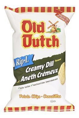 Old Dutch Potato Chips Dill Pickle - 235g